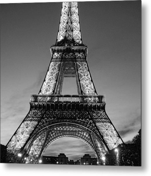 Tower Glow Metal Print