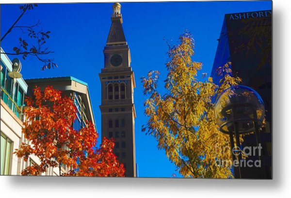 Tower Metal Print by Kirk  Montgomery
