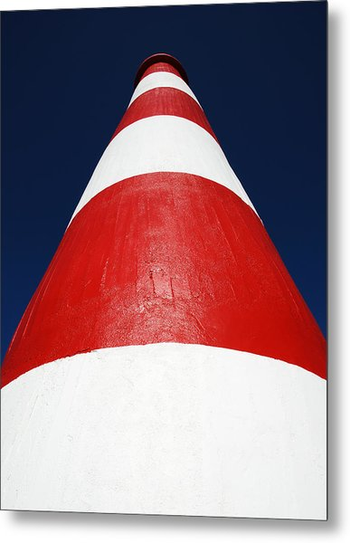 Tower Of Contrast Metal Print