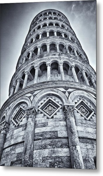 Tower Of Pisa Metal Print