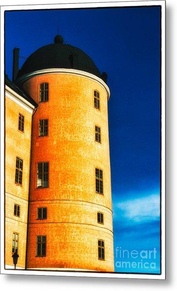 Tower Of Uppsala Castle - Sweden Metal Print
