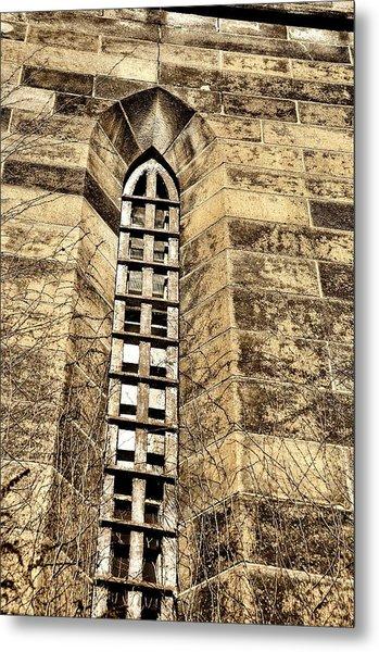Towering Prison Metal Print by JAMART Photography