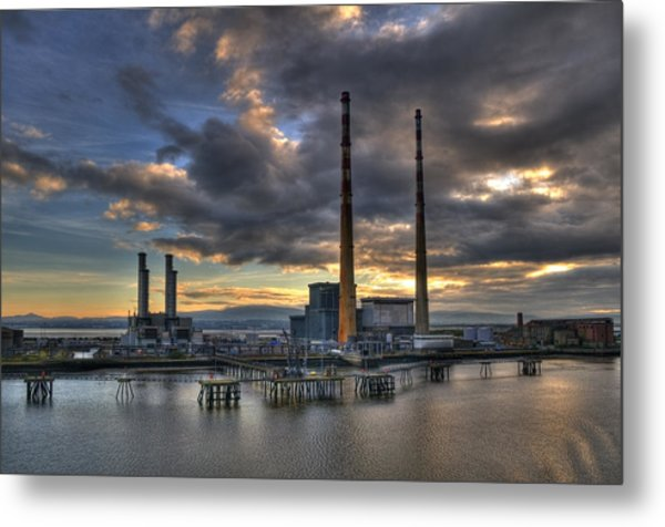 Towers Metal Print