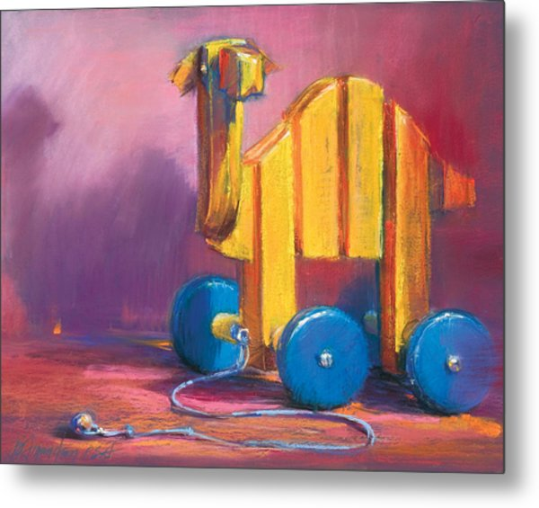 Toy Camel Metal Print by Beverly Amundson