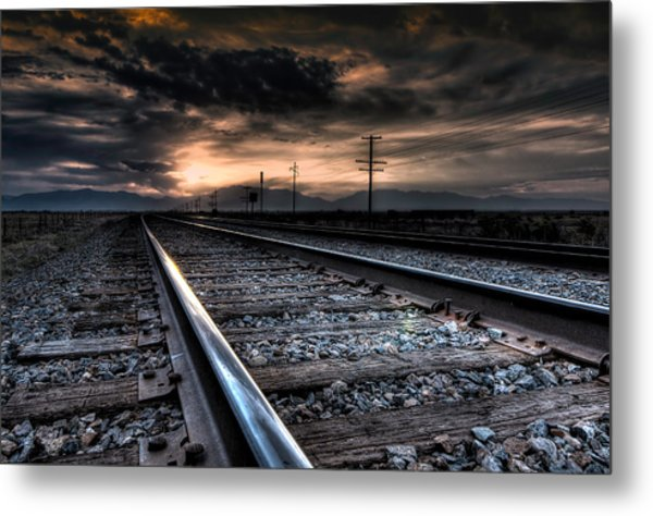 Tracking Sunrise Metal Print