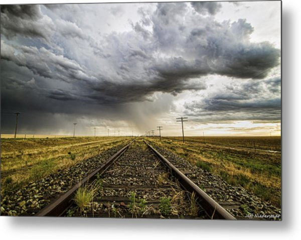 Tracking West Metal Print