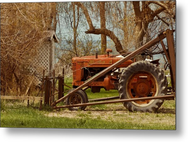 Tractor On Us 285 Metal Print