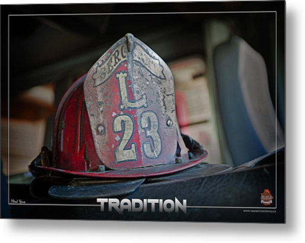 Tradition Metal Print by Mitchell Brown