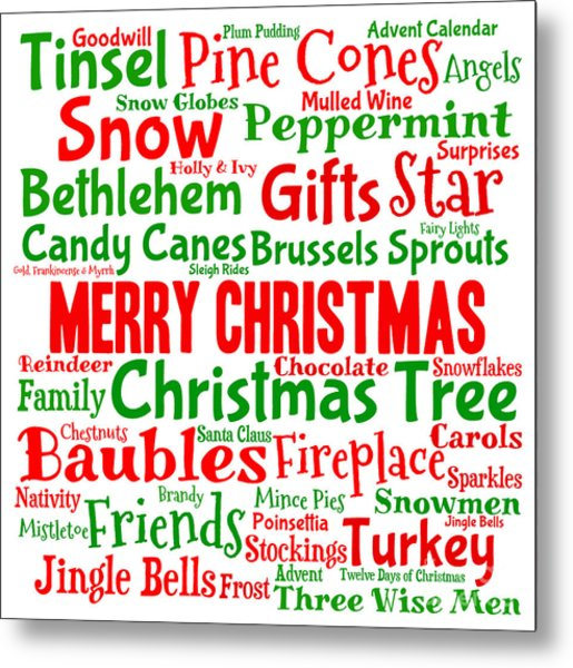 Christmas Words That Start With A.Traditional Christmas Words