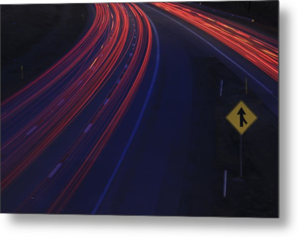 Trail Blazing Metal Print