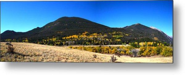 Trail Ridge Road - Panorama Metal Print