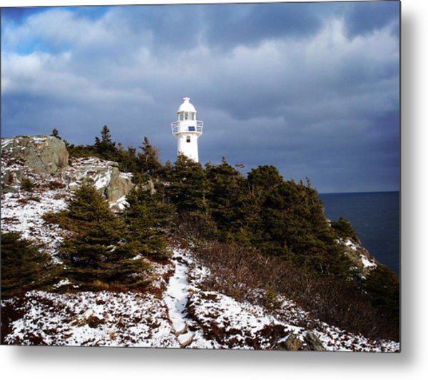 Trail To The Lighthouse Metal Print