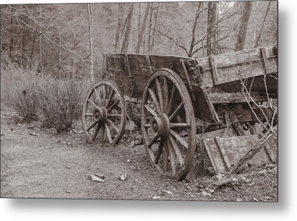 Trail's End Metal Print by William Culler