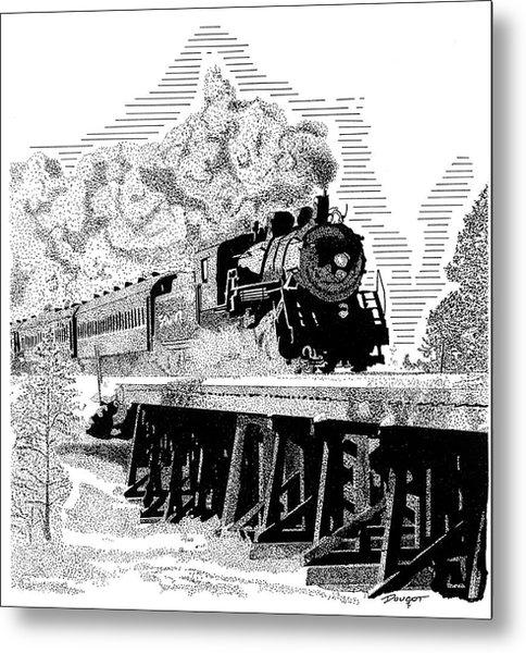Train 1 Metal Print