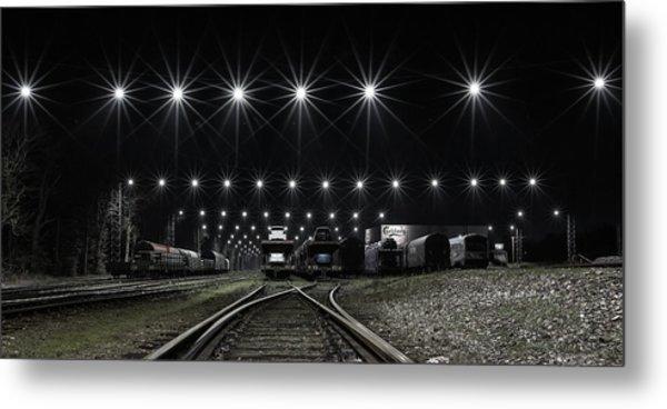 Train Stars Metal Print by Leif L?ndal