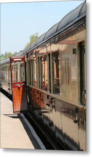Train Transport Metal Print