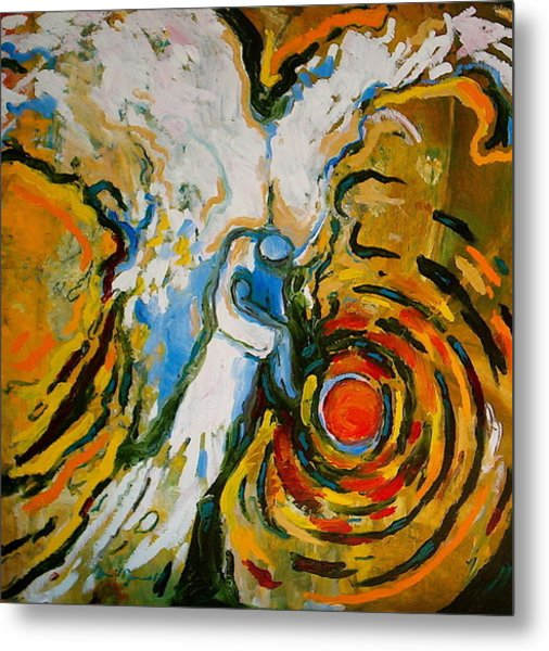 Trancenedence Of A Child Metal Print
