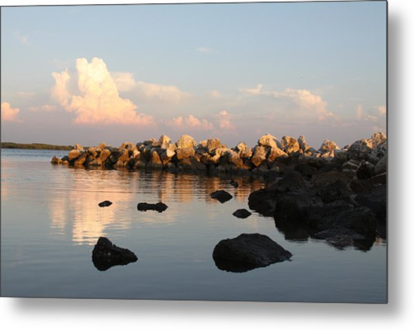 Tranquil Inlet Metal Print