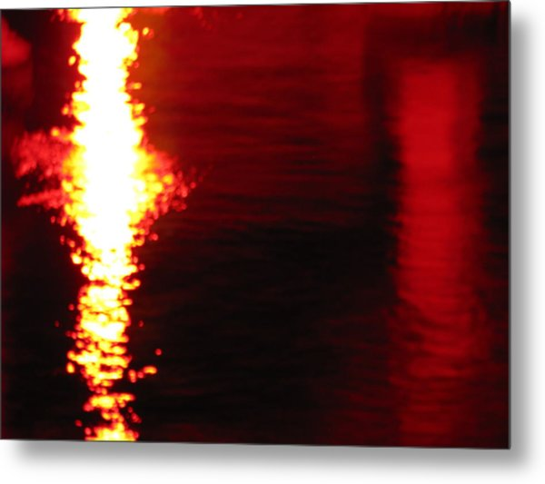 Tranquilized Fusion Metal Print