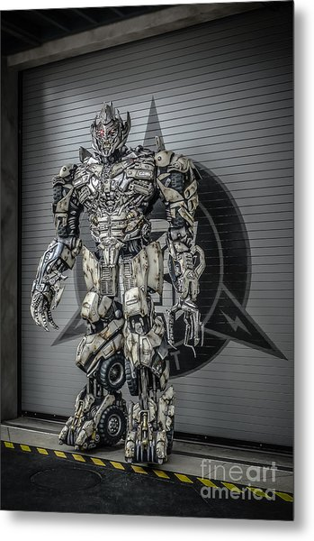 Transformer At Nest Metal Print