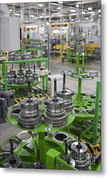 Transmission Plant Metal Print