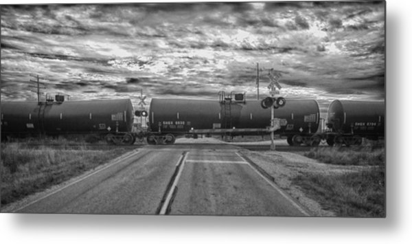 Transport Metal Print by Ricky L Jones