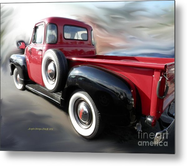 Traveling Back In Time Metal Print