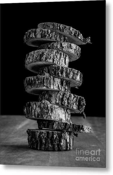 Tree Deconstructed Metal Print