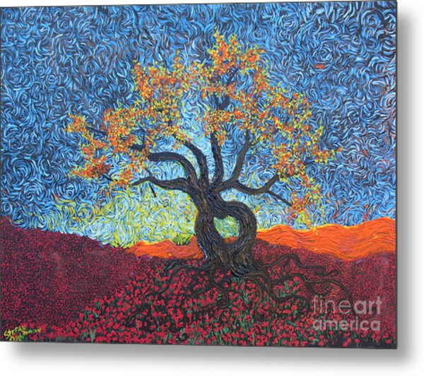 Tree Of Heart Metal Print
