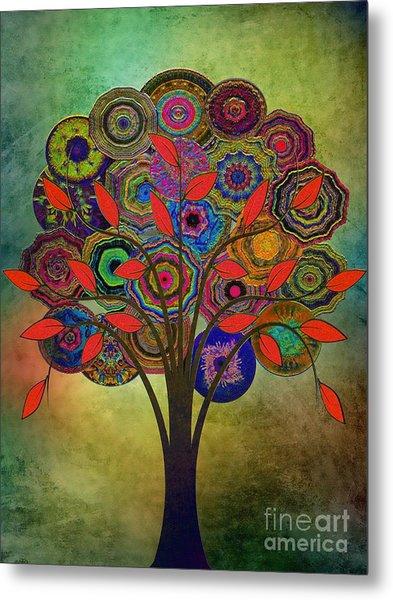 Tree Of Life 2. Version Metal Print