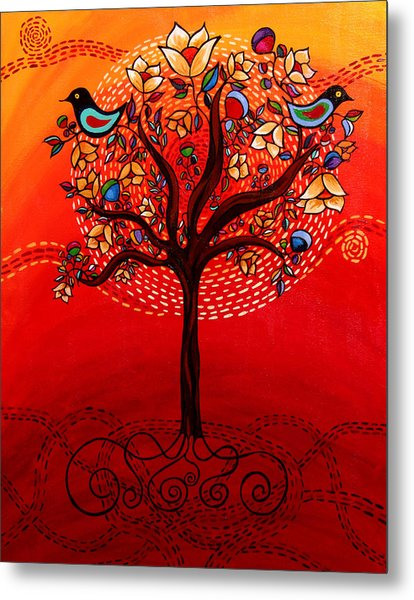 Tree Of Life Metal Print by Catherine Barry