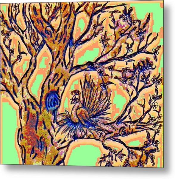 Tree Of Life Metal Print by Rebecca Flaig
