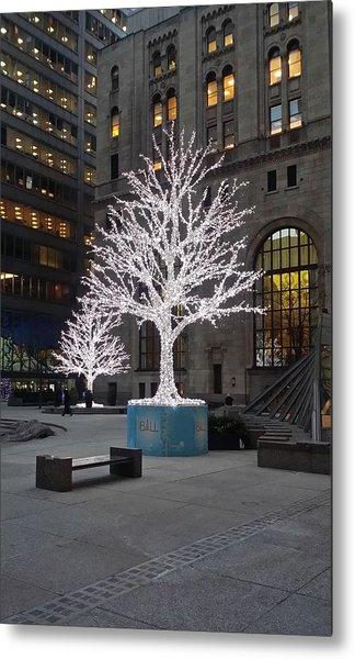 Tree Of Lights I Metal Print