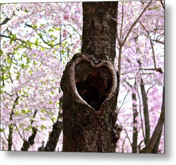 Tree Of Love Metal Print
