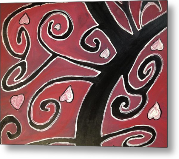 Tree Of Love Metal Print