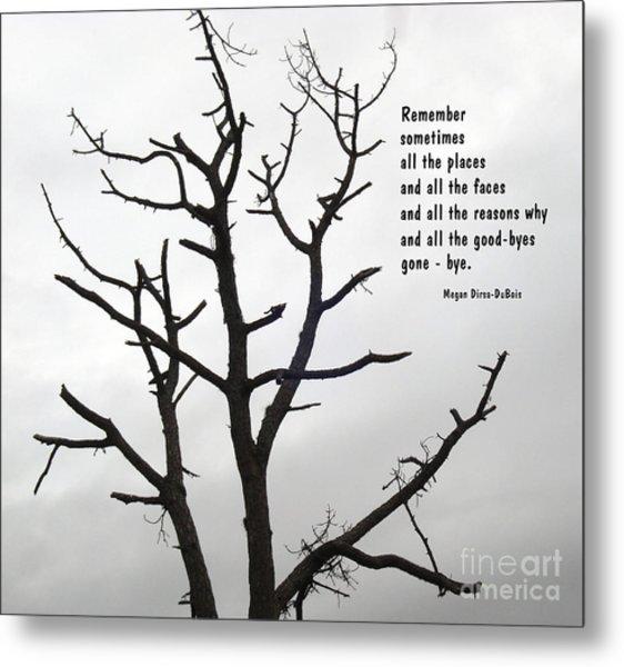 Tree Of Reverie Metal Print