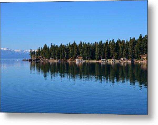 Treeline Lake Tahoe Metal Print