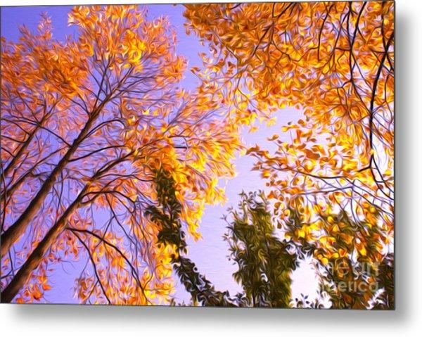 Trees Metal Print by Nur Roy