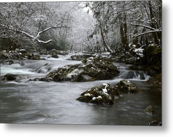 Tremont Winter Metal Print
