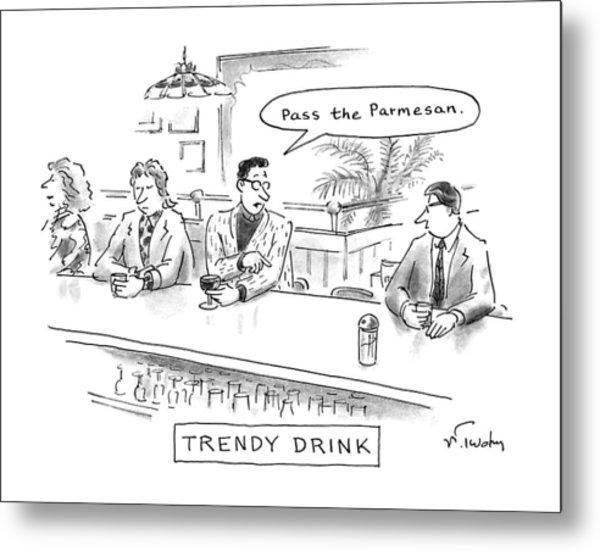 Trendy Drink Metal Print