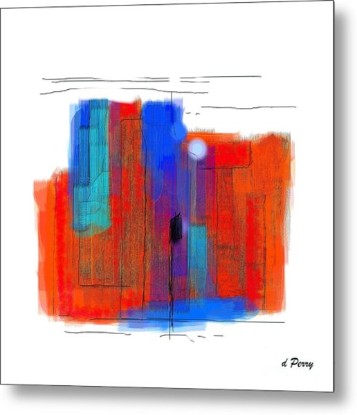 Trepidation Metal Print by D Perry