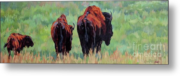 TRI Metal Print by Patricia A Griffin