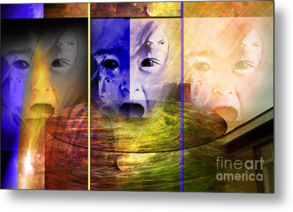 Triad Emotive Metal Print