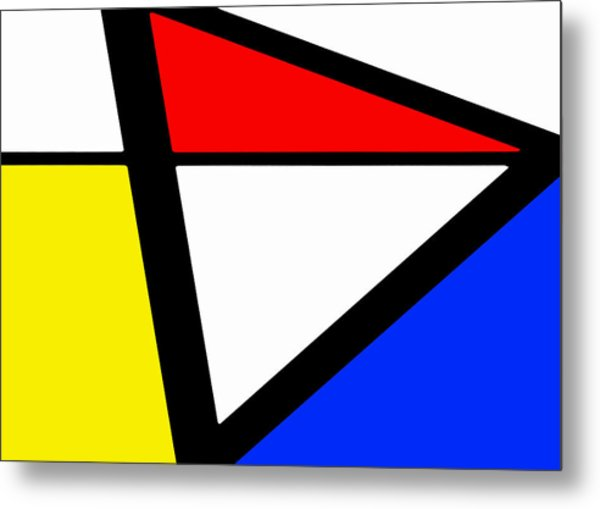 Triangularism I Metal Print