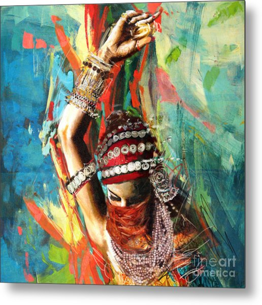Tribal Dancer 1 Metal Print