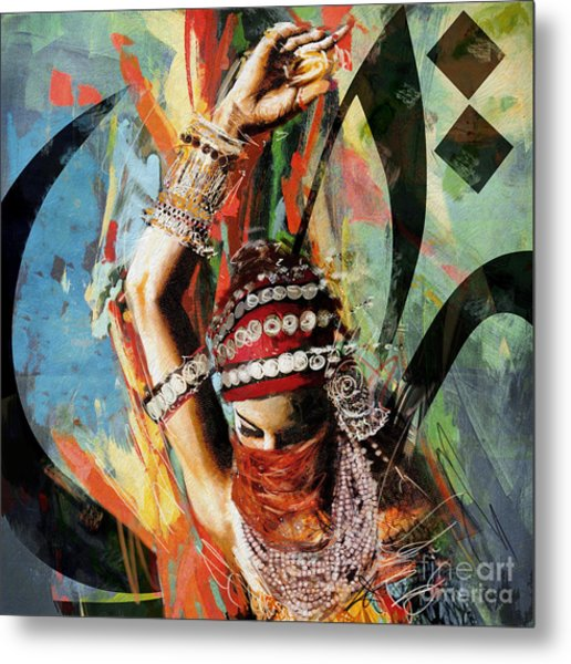 Tribal Dancer 4 Metal Print