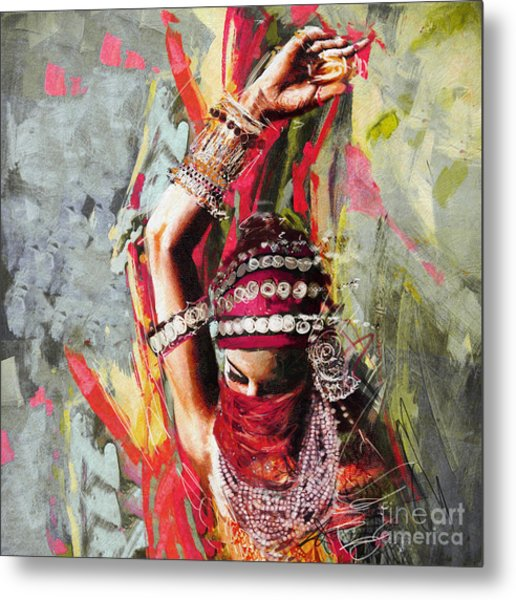Tribal Dancer 5 Metal Print