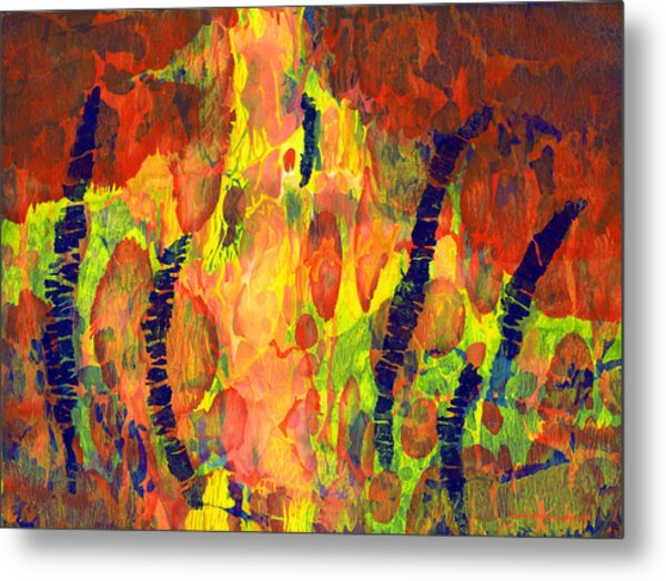 Tribal Essence Metal Print