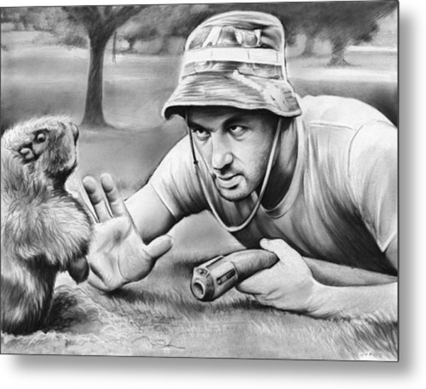 Tribute To Caddyshack Metal Print