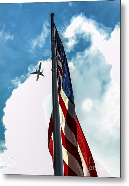 Tribute To The Day America Stood Still Metal Print
